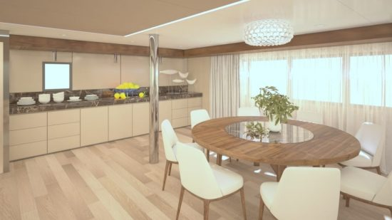 MS Adriatic Sky - Dining Area (Artist Impression)